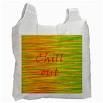 Chill out Recycle Bag (One Side) Front