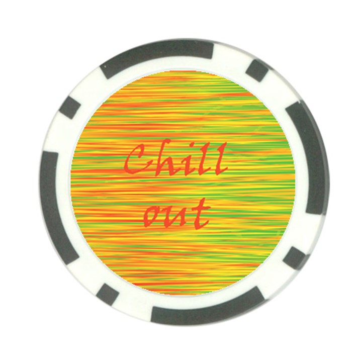 Chill out Poker Chip Card Guards (10 pack)