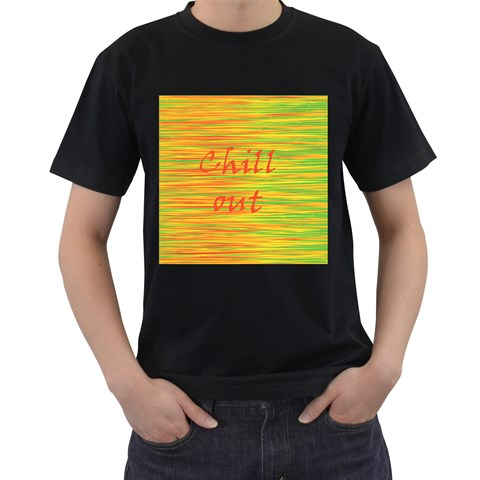 Chill out Men s T-Shirt (Black)