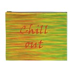 Chill out Cosmetic Bag (XL) Front