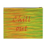 Chill out Cosmetic Bag (XL) Back