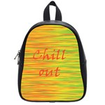 Chill out School Bags (Small)  Front