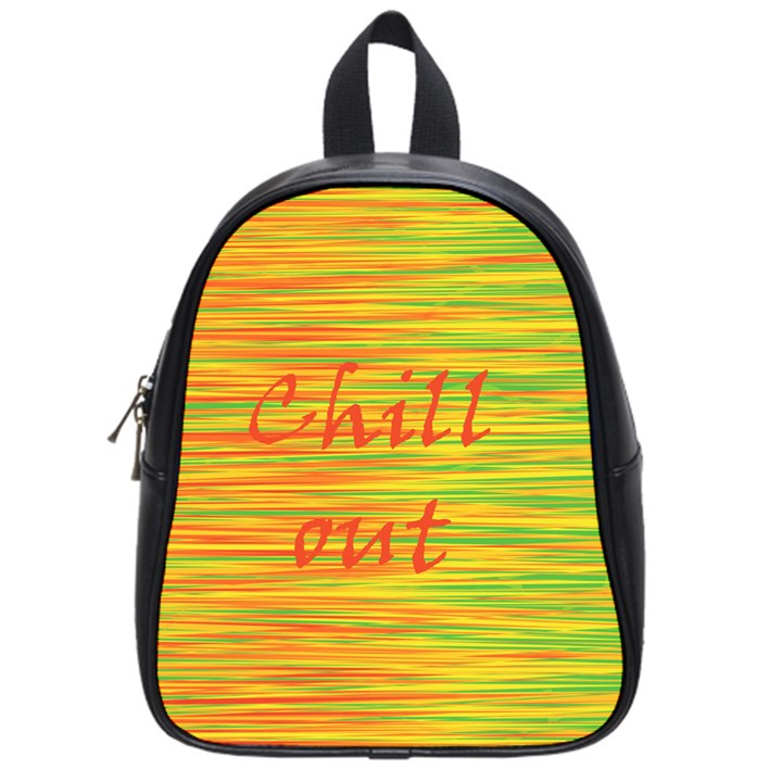 Chill out School Bags (Small)