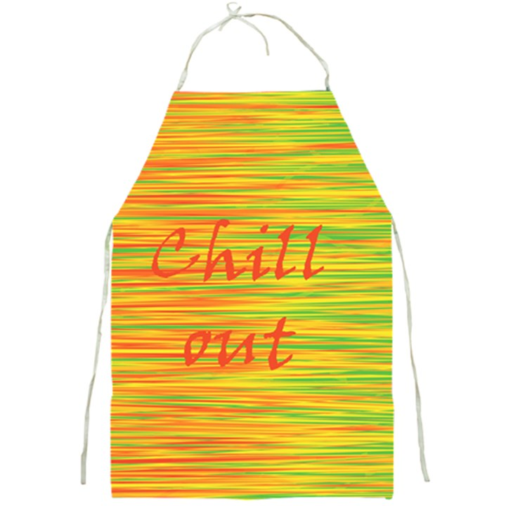 Chill out Full Print Aprons