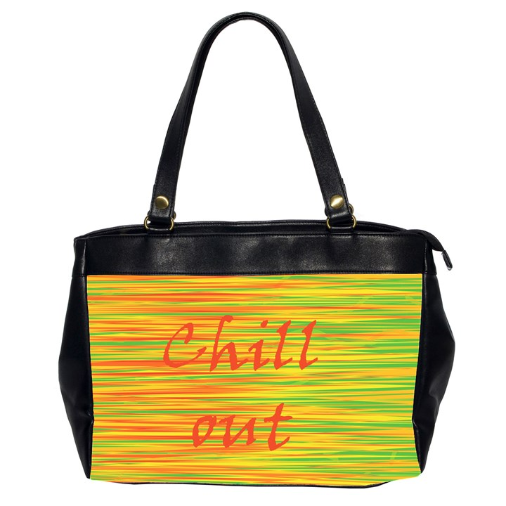 Chill out Office Handbags (2 Sides)