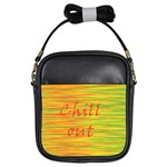 Chill out Girls Sling Bags Front