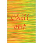 Chill out 5.5  x 8.5  Notebooks Back Cover