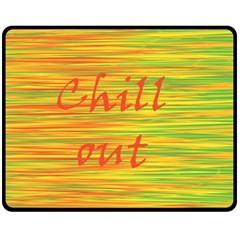 Chill out Fleece Blanket (Medium)