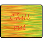 Chill out Fleece Blanket (Medium)  60 x50 Blanket Front