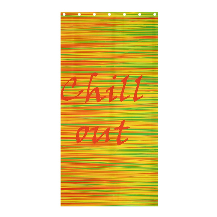 Chill out Shower Curtain 36  x 72  (Stall)