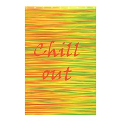 Chill out Shower Curtain 48  x 72  (Small)