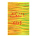Chill out Shower Curtain 48  x 72  (Small)  48 x72 Curtain
