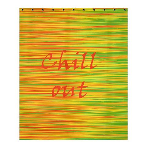 Chill out Shower Curtain 60  x 72  (Medium)