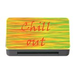 Chill out Memory Card Reader with CF Front