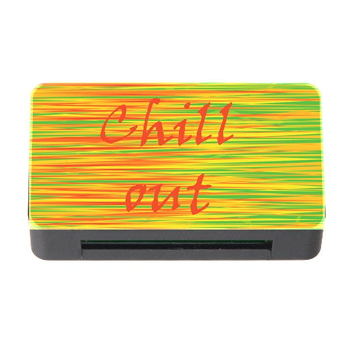 Chill out Memory Card Reader with CF