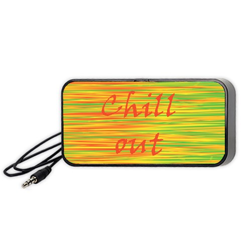 Chill out Portable Speaker (Black)