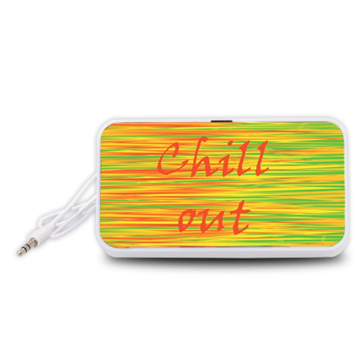 Chill out Portable Speaker (White)