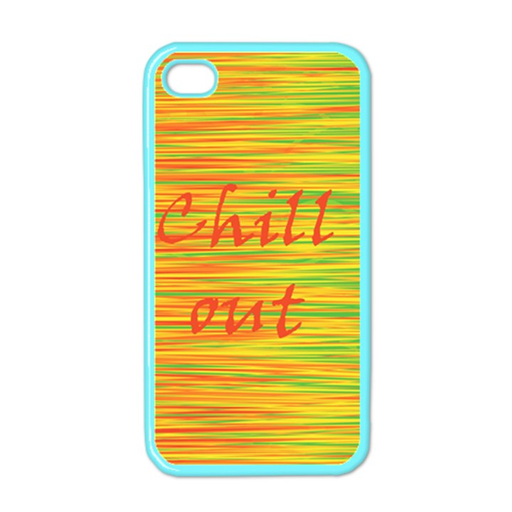 Chill out Apple iPhone 4 Case (Color)
