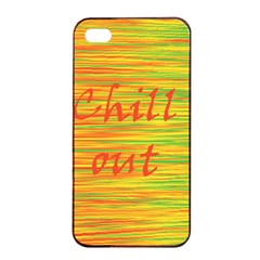 Chill Out Apple Iphone 4/4s Seamless Case (black)