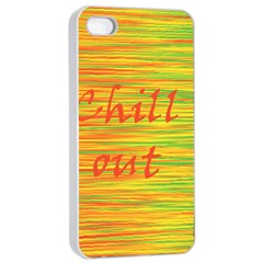 Chill out Apple iPhone 4/4s Seamless Case (White)