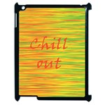 Chill out Apple iPad 2 Case (Black) Front