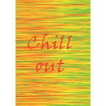 Chill out BOY 3D Greeting Card (7x5) Inside