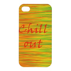 Chill Out Apple Iphone 4/4s Hardshell Case