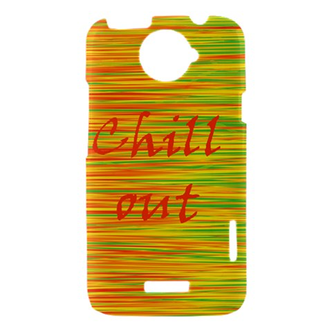 Chill out HTC One X Hardshell Case