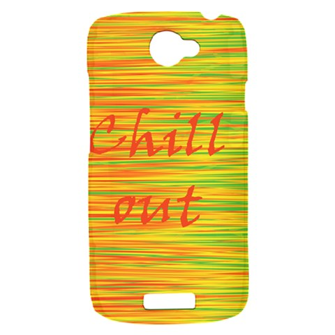 Chill out HTC One S Hardshell Case