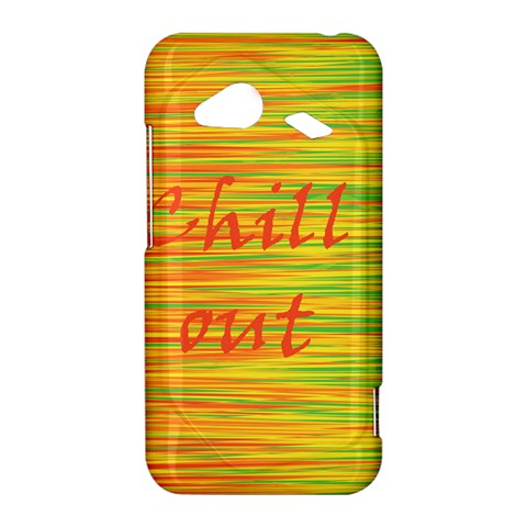 Chill out HTC Droid Incredible 4G LTE Hardshell Case