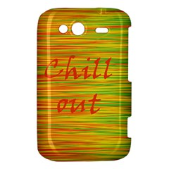 Chill out HTC Wildfire S A510e Hardshell Case