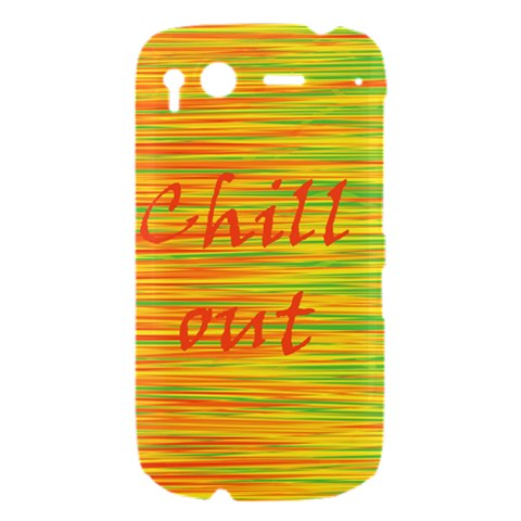 Chill out HTC Desire S Hardshell Case