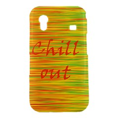Chill out Samsung Galaxy Ace S5830 Hardshell Case