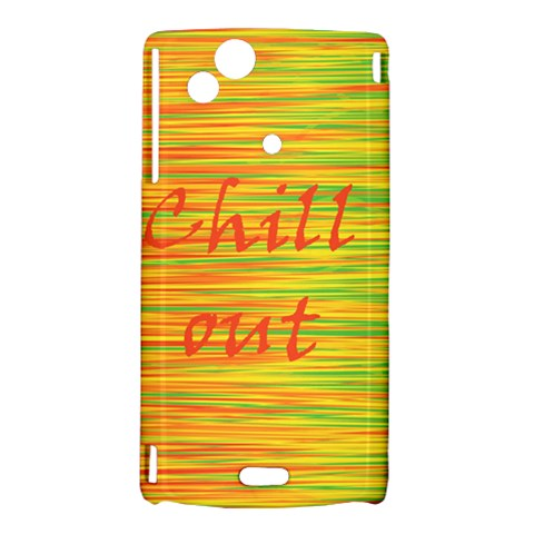 Chill out Sony Xperia Arc