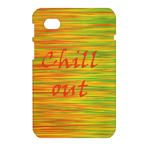 Chill out Samsung Galaxy Tab 7  P1000 Hardshell Case