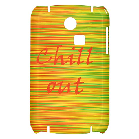 Chill out Samsung S3350 Hardshell Case