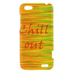 Chill out HTC One V Hardshell Case