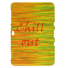 Chill out Samsung Galaxy Tab 8.9  P7300 Hardshell Case