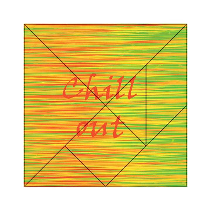 Chill out Acrylic Tangram Puzzle (6  x 6 )