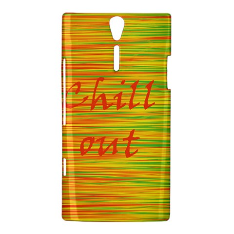 Chill out Sony Xperia S