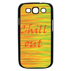 Chill out Samsung Galaxy S III Case (Black)
