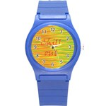 Chill out Round Plastic Sport Watch (S) Front