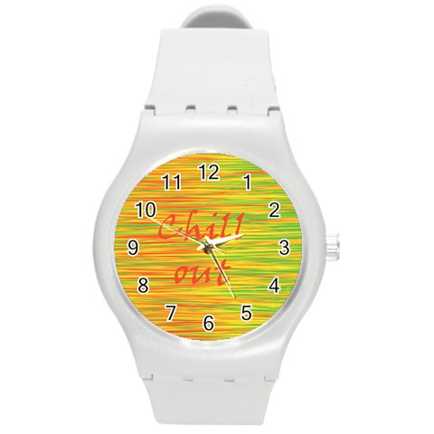 Chill out Round Plastic Sport Watch (M)