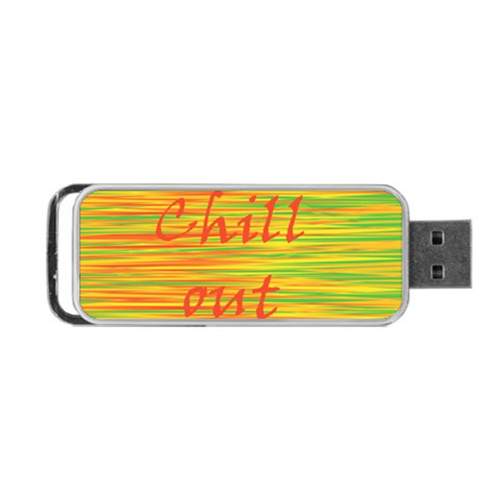 Chill out Portable USB Flash (One Side)