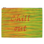Chill out Cosmetic Bag (XXL)  Front