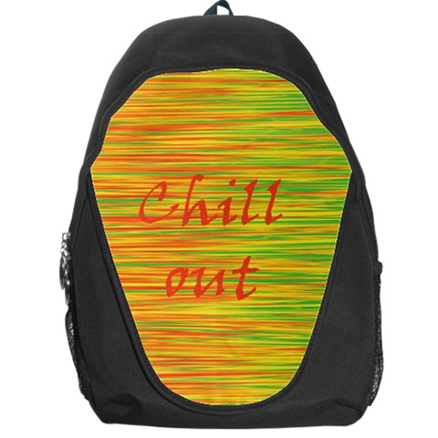 Chill out Backpack Bag