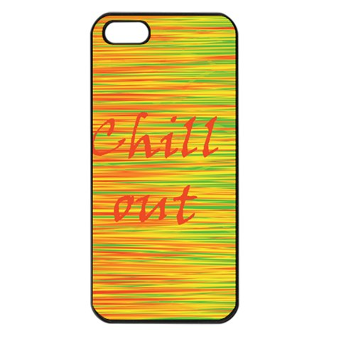 Chill out Apple iPhone 5 Seamless Case (Black)