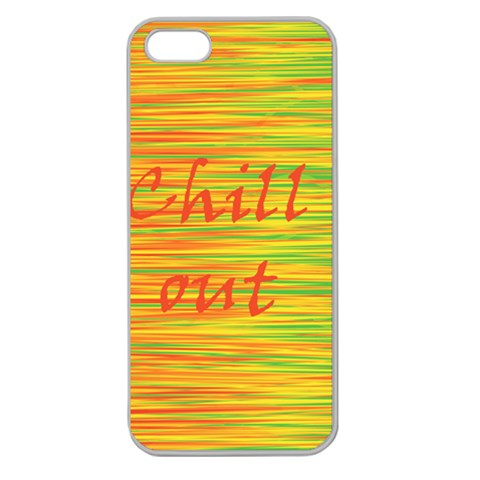 Chill out Apple Seamless iPhone 5 Case (Clear)