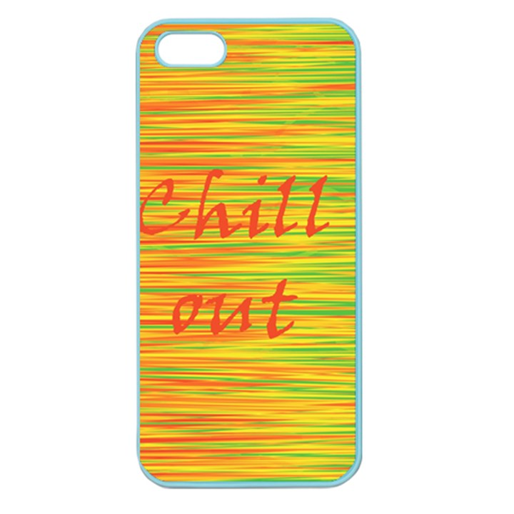 Chill out Apple Seamless iPhone 5 Case (Color)