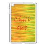 Chill out Apple iPad Mini Case (White) Front